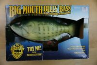Big Mouth Billy Bass ~ The Singing Sensation Fish NIB Motion Activated