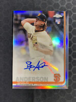 2019 Topps Chrome Update Shaun Anderson Refractor Auto RC SP 🔥🔥 Autograph
