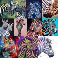 5D DIY Full Drill Diamond Painting Zebra Cross Stitch Embroidery Mosaic Kit