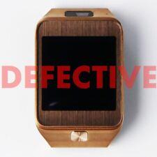 DEFECTIVE Samsung Galaxy Gear 2 Smart Watch (SM-R380) - Brown Gold - Black Band