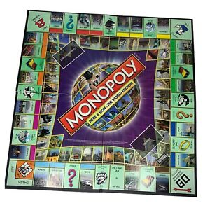 Monopoly Here and Now: The World Edition Replacement-  Game Board Only