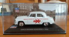 SIMCA ARONDE GENEVIEVE 1954 1:43 1/43 altaya voiture miniature diecast ixo