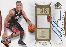 2008-09 SP Authentic Basketball Michael Beasley RC 127/199