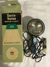 Vintage Smith-Victor Movie Light / Spot Light L-9 with Box - Working