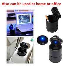 1 x High Quality PBT LED Light Fine Sealing Car Ashtray for Car Cup Holder Decor