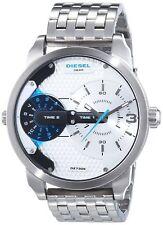Diesel Mini Daddy Mens Silver Stainless Steel Chronograph Watch DZ7305