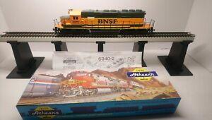 Athearn HO Train NEW Custom BNSF EMD SD40-2 Dummy Diesel Locomotive