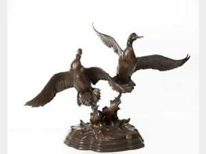 "Mallards ""Skyward Bound"" - Clark Bronson 24/50 -1977 - Silver Medal Winning"