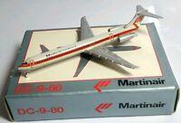 SCHABAK 1:600 SCALE DIECAST MARTINAIR HOLLAND DC-9-80 - 904/43