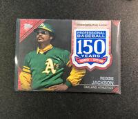 2019 Topps Series 2 Reggie Jackson Commemorative Patch /25 Oakland Athletics