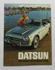 1969 Datsun 2000 1600 Brochure SPL311 SRL311 Vintage Original