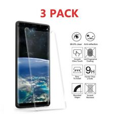 3X Tempered Glass Full Cover Screen Protector For Samsung Galaxy S7 S8 S9+ N8 N9