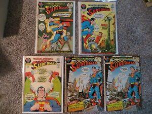 Lot of 40: SUPERMAN / 1971-77 / #30675