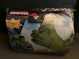 New Marvel Incredible Hulk Child Stuffed Hands