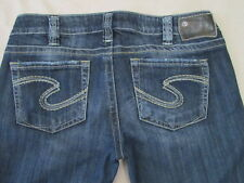 Silver Size 30 / 31 Tuesday Dark Wash Super Soft Stretch Jeans