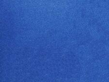 VORWERK Teppichboden Bingo 3K09 Auslegware Kornblumen Blau Uni Velour Teppich 5m
