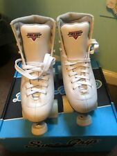 Sure Grip Fame Roller Skate. White Ladies 7. New Condition with box!!