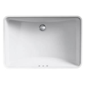 "Kohler K-2215-0 Ladena 23-1/4"" Undermount Bathroom Sink in White"