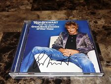 Rod Stewart Rare Authentic Signed CD Still The Same Faces REAL SIGNATURE + COA