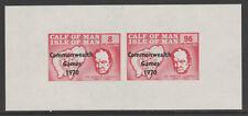 IOM Calf of Man 6051 - 1970 COM GAMES & CHURCHILL  m/sheet unmounted mint