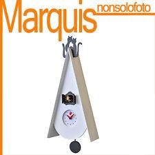 """orologio a cucù  Art. 819  """"Cucu Gattini"""" bianco  Pirondini  marquis"""