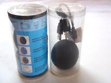 2 Portable Egg Shape Mini Speaker  w/Light works w/Tablets MP3 Computer Black