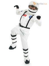 Boys Astronaut Costume Kids Spaceman Fancy Dress Space Man Dressing Up Costume