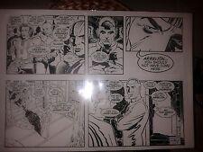 Original Comic Art SCOTT REED Looks Like Kirby Art Overman?
