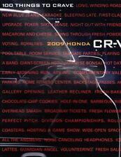 2009 09 Honda CRV Original Sales Brochure MINT