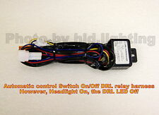 Headlight ON LED Daytime Running Light DRL Off Relay Harness Automatic On Off