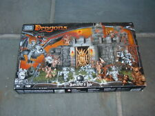 Mega Bloks Dragons Sorcerer's Lair #9886 New Old Stock Sealed Retired 2002