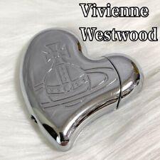 Vintage Vivienne Westwood Heart-Shaped Silver Gas Lighter