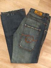 Designer De Puta Madre 69 Herren Jeans Hose Blau Gr.48 Italy Neu
