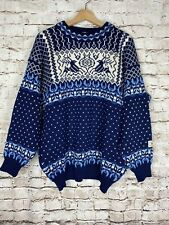 Dale of Norway 100% Wool, Nordic Sweater, Large