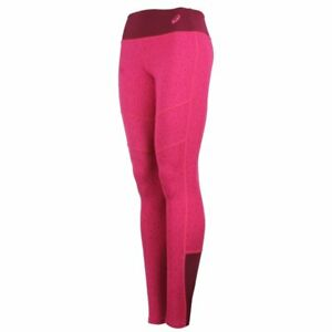 Asics Women's Running Tights Graphic Sports Tights - Berry Pink - New