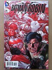 BATMAN & ROBIN ETERNAL #20 PAUL PELLETIER COVER DC SCOTT SNYDER NM 1ST PRINTING