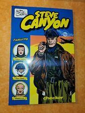 Milton Caniff's STEVE CANYON 1947 Checker Book Publishing | Trade Paperback VFNM