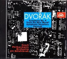 Dvorak - Symphony No.9 etc CD CPO/Belohlavek 'From The New World' 1989 (1990)
