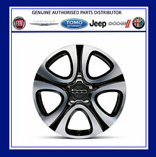 "Genuine New FIAT 500x 18"" Granulato Finitura Cerchi In Lega Kit, PN - 51993395"