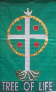 Tree of LifeStandard House Flag by NCE #20479