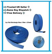 High Quality Water Pump Lay Flat DISCHARGE DELIVERY HOSE PIPE 10m x 25mm 1""