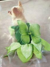 Sweet Fairy Costume Small Dog New Green