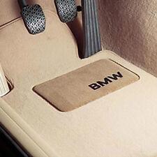 BMW OEM Beige Carpeted Floor Mats 2007-2013 E93 3 Series Convertible 82112293539