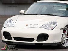 Carbon Fiber Front Bumper Lip For 2001-2005 Porsche 996 911 Turbo/Carrera 4S