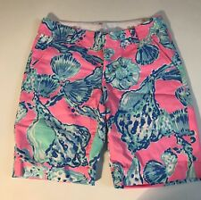Lilly Pulitzer short the chipper blue pink size 2