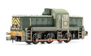 GRAHAM FARISH 'N' GAUGE 372-953 BR GREEN CL14 'D9526' DIESEL LOCOMOTIVE
