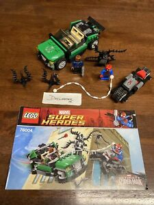 LEGO Super Heroes 76004 - Spider-Man Spider-Cycle Chase 100% Complete