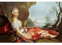 ANTIQUE 18th CENTURY OLD MASTER OIL PAINTING ITALIAN 1750-1770