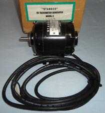 Standco Model C Dc Tachometer Generator 50 Volts per 1000 Rpm New