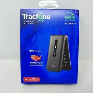 LG Classic Flip 8GB - Gray (Tracfone) Cellphone